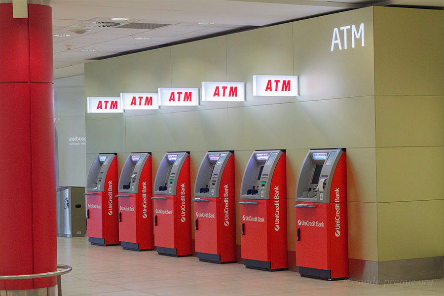 Photo of ATMs at Prague Airport