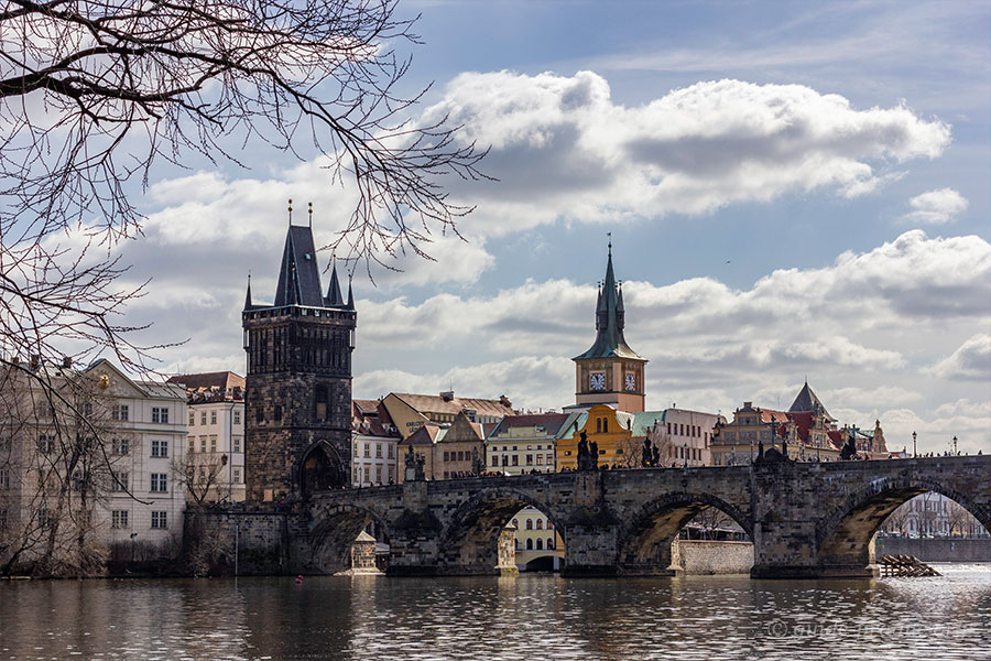 Photo of the Charles Bridge and Old Town Bridge Tower, Prague